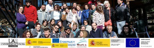 Celebrado el XV Encuentro de Formación de Artistas Convin-Arte/Moviliz-Arte