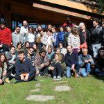 Foto de grupo del XV Encuentro Convin-Arte en Miraflores
