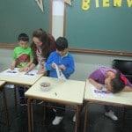 Sesion MUS-E con familias en el CEIP Francisco de Goya de Madrid
