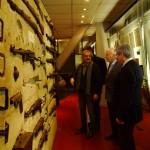 Visita al Museo con Guy Krivopissko, director del Museo de la Resistencia.