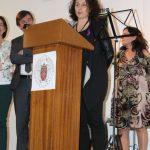 Inauguración de la Exposición 'Mujeres' de Sofía Gandarias, en la Facultad de Bellas Artes de la UCM