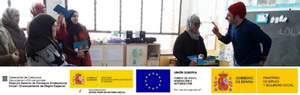 Sesión para familias en la Escola Joan Maragall de Sabadell
