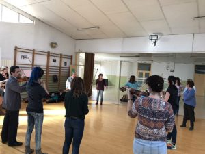 Formación MUS-E para docentes del CEIP Barriomar 74 de Murcia