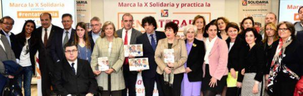 Presentación de la campaña X Solidaria 2017