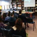 Charla sobre Derechos Humanos en elColegio Los naranjos