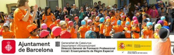 Sant Jordi 2017 en la Escola Cal Maiol de Barcelona