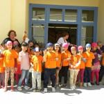 Celebraciones de Sant Jordi 2017 en la Escola Cal Maiol de Barcelona