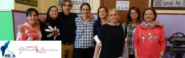 La Universidad de Florencia visita el CEIP Miguel de Unamuno de Madrid en el marco del Proyecto META