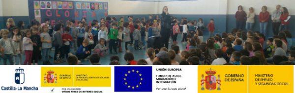 Sesiones con familias en Alcázar de San Juan por el Día del Libro