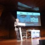 Conferencia de Enrique Barón en el World Home Share Congress 2017, celebrado en Madrid