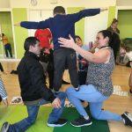 Sesión MUS-E 2016-2017 en la Escola Pepa Colomer