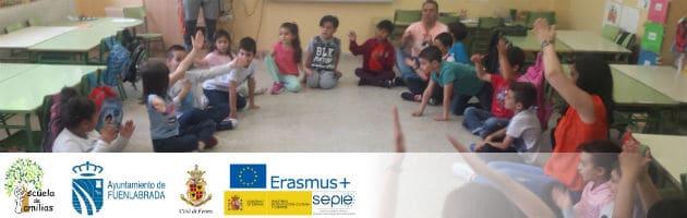 Sesión de Escuela de Familias Erasmus+ en el CEIP Antonio Machado de Fuenlabrada