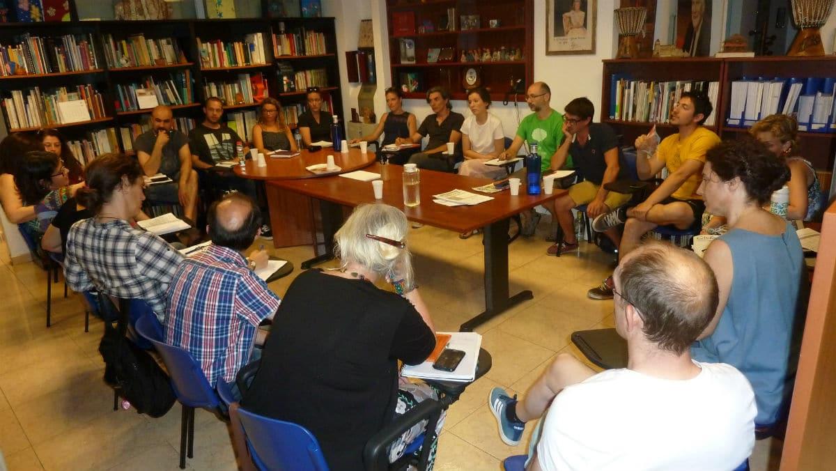 Reunión de evalulación MUS-E Madrid 2016-2017