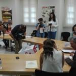 Momento de la firma del Convenio entre la FYME y la Diputación de Badajoz