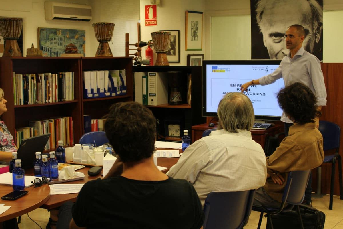Reunión de Coordinación de Arte para la Motivación en España, julio de 2017