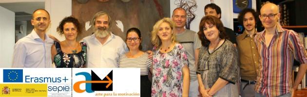 Encuentro de Coordinación de Arte para la Motivación en España, julio de 2017
