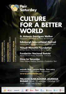 Cartel de la presentación del Fair Saturday 2017 en Bilbao