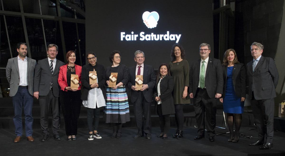 Premiados en la primera edición de los Premios Fair Saturday