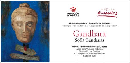 'Gandhara', de Sofía Gandarias, se expone en Badajoz