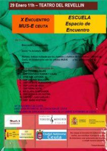 Cartel del Día MUS-E Ceuta 2017