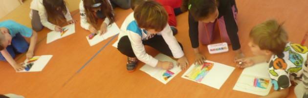 Sesión MUS-E en un centro educativo de la Comunidad de Madrid