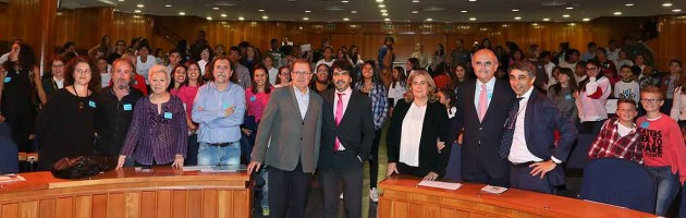 Acto por el Día de la Infancia de la Plataforma de Infancia. Madrid, 20 de noviembre de 2017.