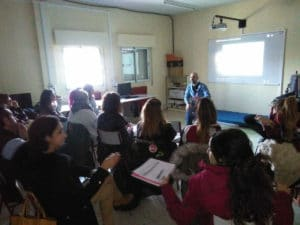 Sesión de formación para docentes en el CEIP Sagrado Corazón de Getafe