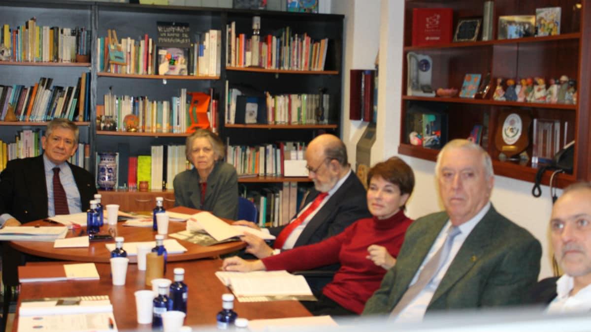 Patronos de la FYME en la reunión anual de diciembre