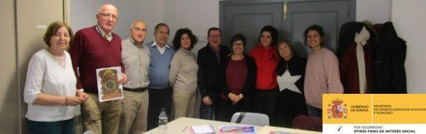 Sesión de formación de Voluntariado SolidarizArte, en el Centro Social y Cultural de Villaverde