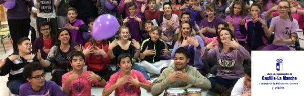 IESO 1 de Alovera y MUS-E: 'Puertas Violetas', un futuro mejor mediante la alegría
