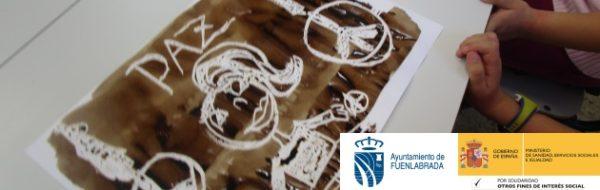 Talleres desde el arte en el CEIP Clara Campoamor con motivo del Día de la Paz
