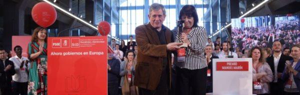Enrique Barón, 'Premio Manuel Marín' por su trayectoria parlamentaria
