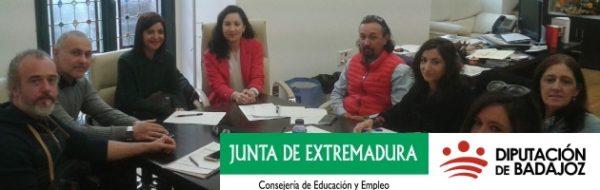 Reunión de evaluación y presentación del proyecto 'Emoción-Arte'