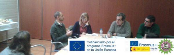 Reunión de coordinación 'We All Count', nuevo proyecto Erasmus+