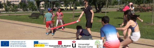 La 'Escuela de Familias' se va de gymkana a la Universidad Rey Juan Carlos