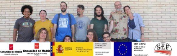Sesión de formación 'Dinamizadores comunitarios' con el SEF (Seguridad, Estudios, Formación)