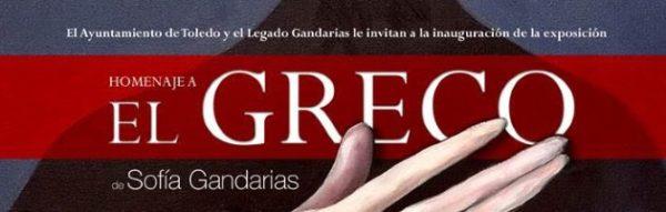 'Homenaje a El Greco', de Sofía Gandarias, se inaugura el 5 de octubre en Toledo