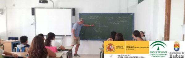 El Programa MUS-E se desarrolla por cuarto año en los centros educativos de Barbate