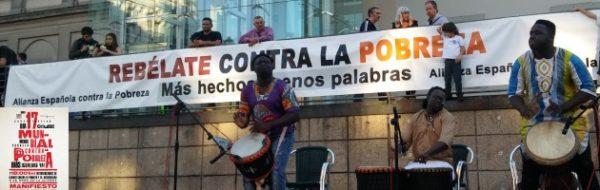 La Fundación Yehudi Menuhin España participa de manera activa en el Día Internacional para la Erradicación de la Pobreza