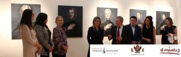 Inaugurada en Toledo la exposición 'Homenaje a El Greco', de Sofía Gandarias