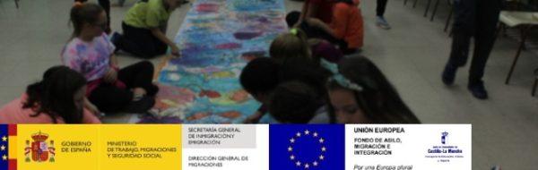 Sesiones MUS-E con niños, niñas y sus familias, en el CEIP Fuente del Oro