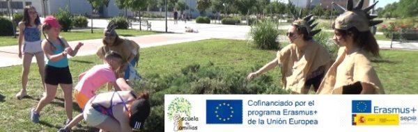 Proyecto Erasmus+ 'Escuela de Familias: la importancia de las gymkanas educativas