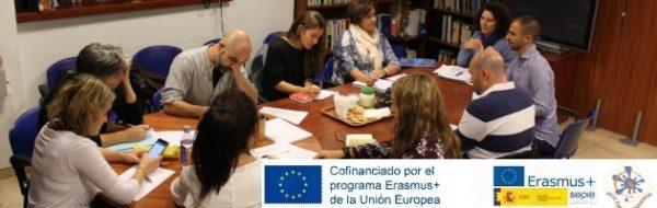 Proyecto Erasmus + 'Arte por la Convivencia': reunión en Madrid de equipos directivos y artistas