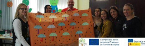 El CEIP Antonio Machado celebra su Semana de la Convivencia: 'Desayuno Saludable' y 'Paraguas de Familias'
