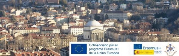 Encuentro Internacional del Proyecto Erasmus + 'Arte por la Convivencia' en Turín