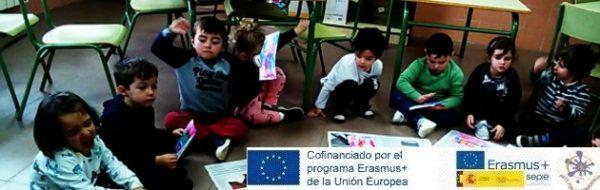 Los niños y niñas del CEIP Tomás y Valiente reivindican sus Derechos