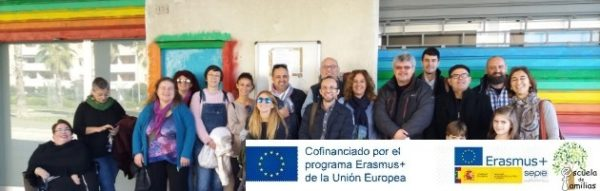 'Escuela de Familias': Una Delegación Española acude al barrio de Lido Tre Archi (Fermo)