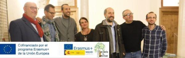 Encuentro de la Delegación Española con el Conservatorio de Fermo, promotores del Proyecto Erasmus+ 'Escuela de Familias', profesores, artistas y MUS-E Fermano Onlus