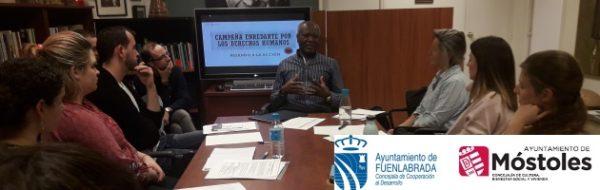 Campaña EnRedArte Derechos Humanos: sesiones de formación en la FYME