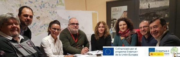 Reunión de coordinación para el 'Encuentro Proyecto Erasmus + 'Escuela de Familias''